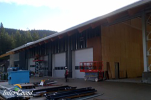 BC Hydro in Maple Ridge BC Using SRP AirOutshield UV Breathable Underlayment