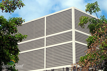 Architectural Louvers, Vision Screens & Sunshades for Vancouver BC & AB | InterCosat Building Solutions