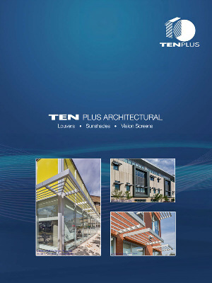 Download the Ten Plus Louvers, Sunshades and Vision Screen Spec Writer Resources Zip File