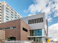 Ten Plus Aluminum Architectural Products - Model H6451 Storm Blade Louvers at Humber River Hospital, Toronto ON Image 2