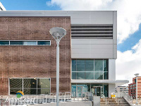Ten Plus Aluminum Architectural Products - Model H6451 Storm Blade Louvers at Humber River Hospital, Toronto ON Image 3