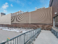 Ten Plus Aluminum Architectural Products - Model H6451 Storm Blade Louvers at Humber River Hospital, Toronto ON Image 5