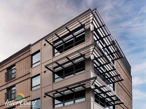 See our photo gallery of architectural & building envelope products here...
