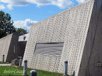 Ten Plus Architectural Products - Canadian War Museum Model H4451 Storm Blade Louvers in Ottawa ON - 2