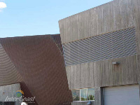 Ten Plus Architectural Products - Canadian War Museum Model H4451 Storm Blade Louvers in Ottawa ON - 4