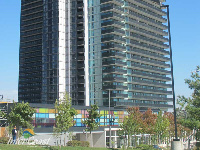 Ten Plus Architectural Products - Model H4451 Storm Blade Louvers at Concord City Place, Toronto ON - Image 1