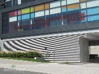 Ten Plus Architectural Products - Model H4451 Storm Blade Louvers at Concord City Place, Toronto ON - Image 2