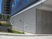 Ten Plus Architectural Products - Model H4451 Storm Blade Louvers at Concord City Place, Toronto ON - Image 3