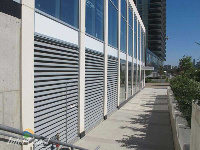 Ten Plus Architectural Products - Model H4451 Storm Blade Louvers at Concord City Place, Toronto ON - Image 4